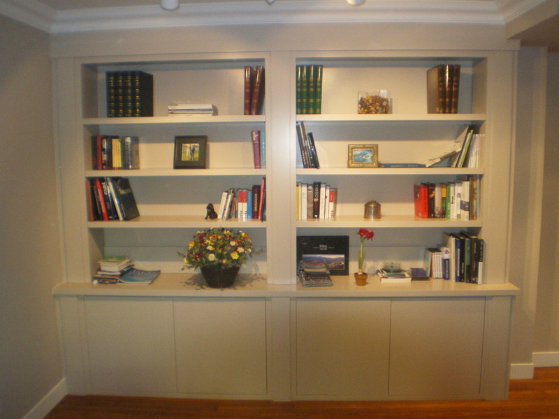 Virutas muebles a medida librer as for Muebles librerias modernas
